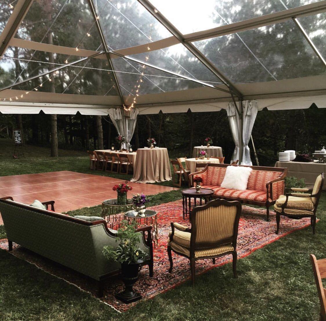 Backyard party | Event rental, Tent rentals, Wedding rentals