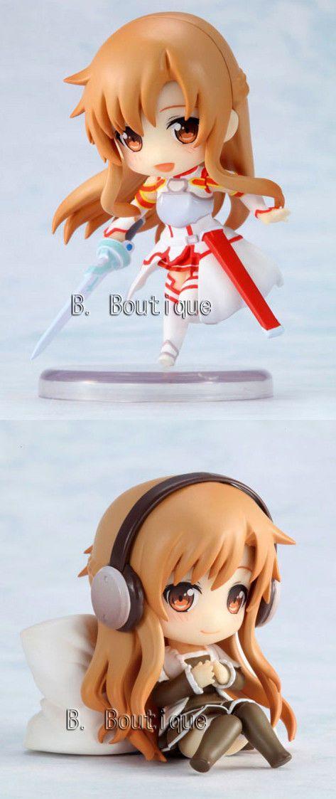 Sword Art Online Asuna Mini Chibi Figure Official Japan Item Version A or B Sao | eBay