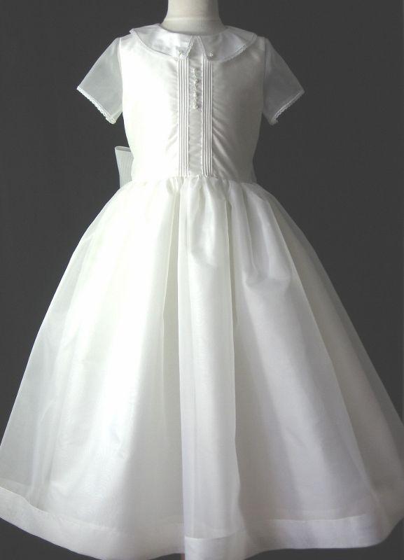 First Communion Dress, Ava   Classic, no frills Communion Dresses ...