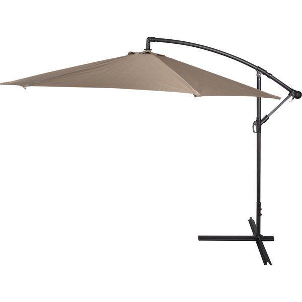 $94.35 10 Foot Deluxe Offset Patio Umbrella   Overstock™ Shopping   Big  Discounts On