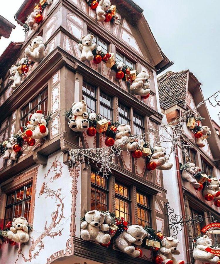 Estrasburgo Francia Ideas De Decoración De Navidad Casas De Navidad Navidad Invierno