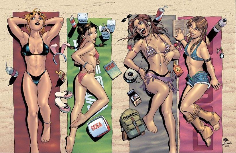 Female marvel superheroes naked
