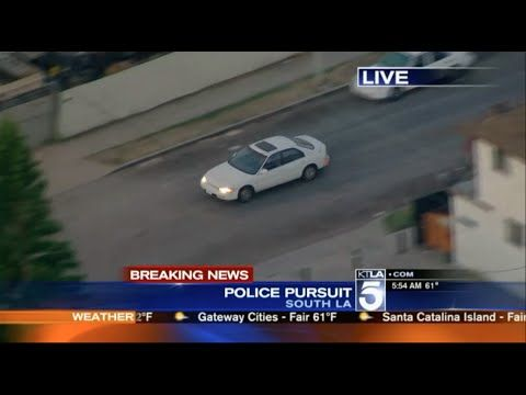 Los Angeles Police Chase April 29 2015 Ktla Kttv Kabc Road Rage Police Dashcam