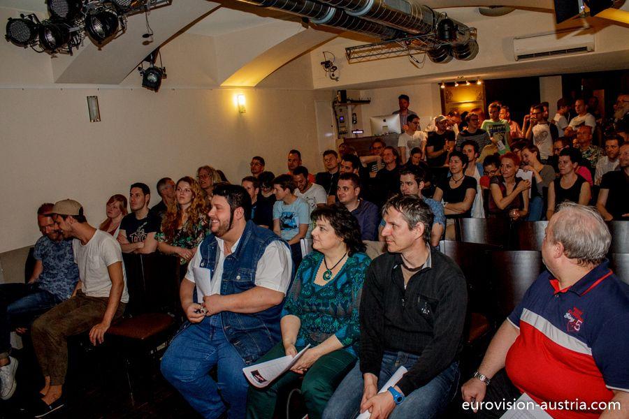 OGAE Austria Preview-Party am 25. April im Gugg. Die Fans haben gewählt: Italien gewinnt die Fan-Wertung! --- http://www.eurovision-austria.com/de/ogae-austria-preview-party-italien-gewinnt/ ---------------------------------- #esc #vienna #BuildingBridges #eurovision #austria #ogaeaustria  ---------------------------------- Mehr Eurovision-News auf: http://www.eurovision-austria.com/