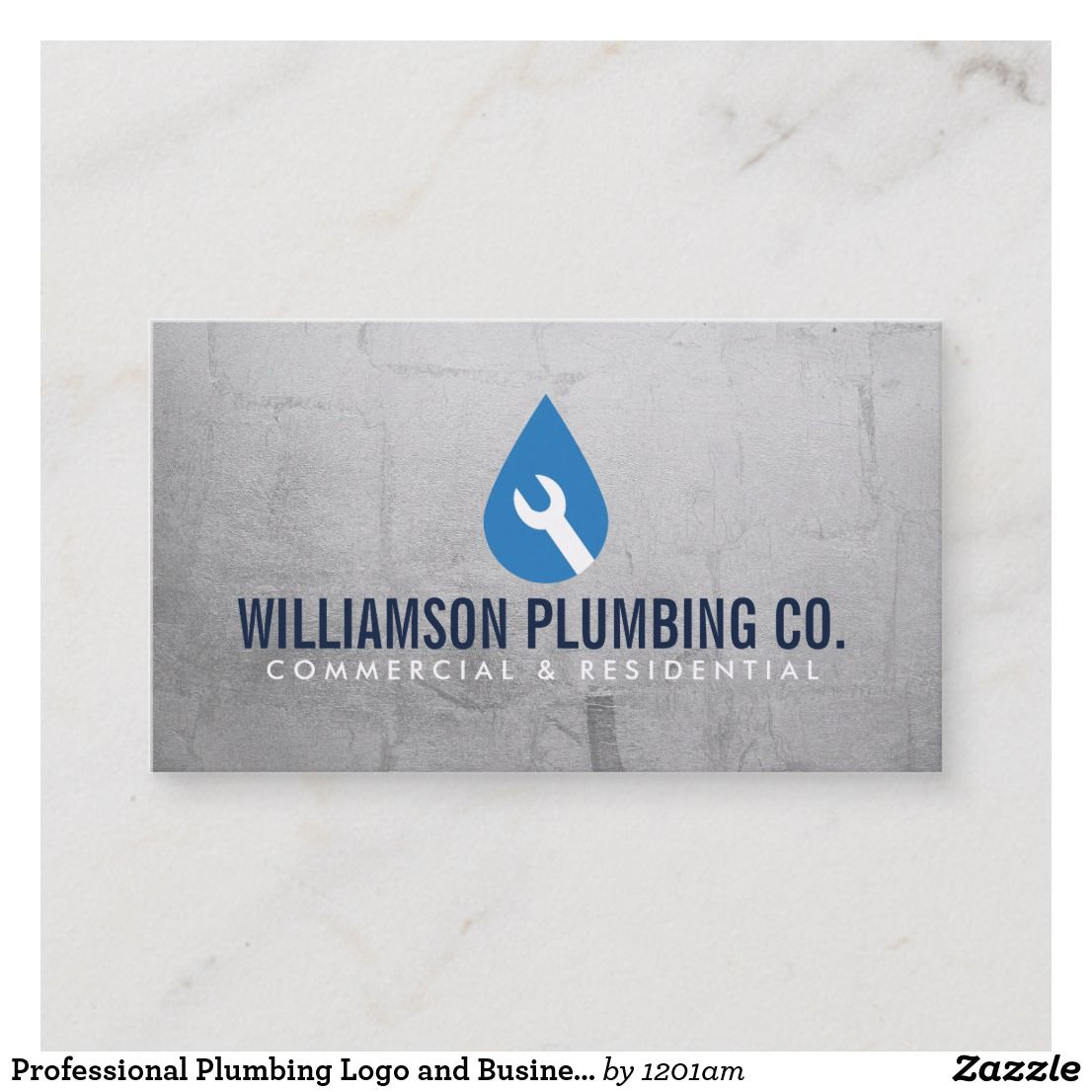 Professional Plumbing Logo and Business Card