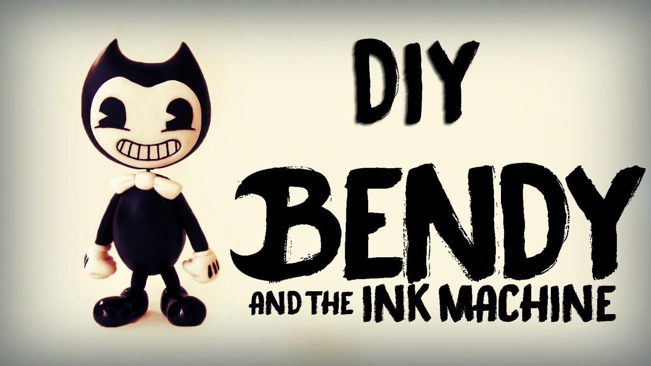 Diy Como Fazer O Bendy Bendy And The Ink Machine Tutorial