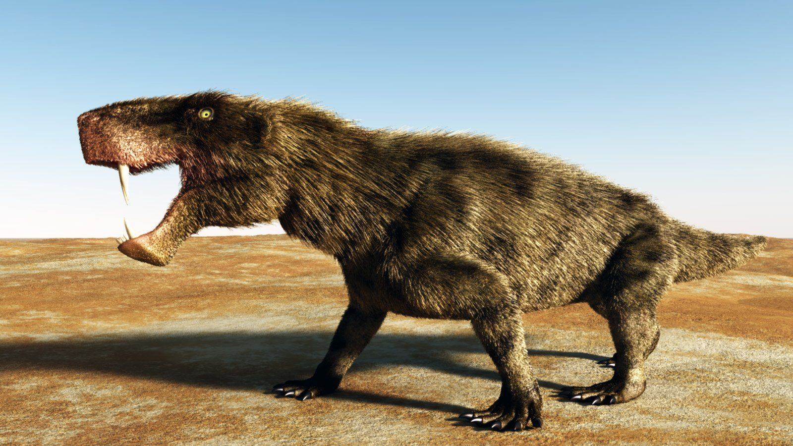 Inostrancevia The Largest Gorgonopsids Yet Found Their