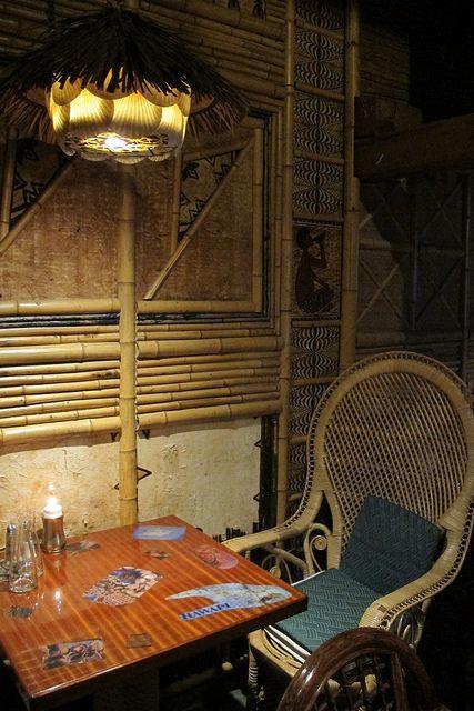 Bamboo and rattan at Kon-Tiki