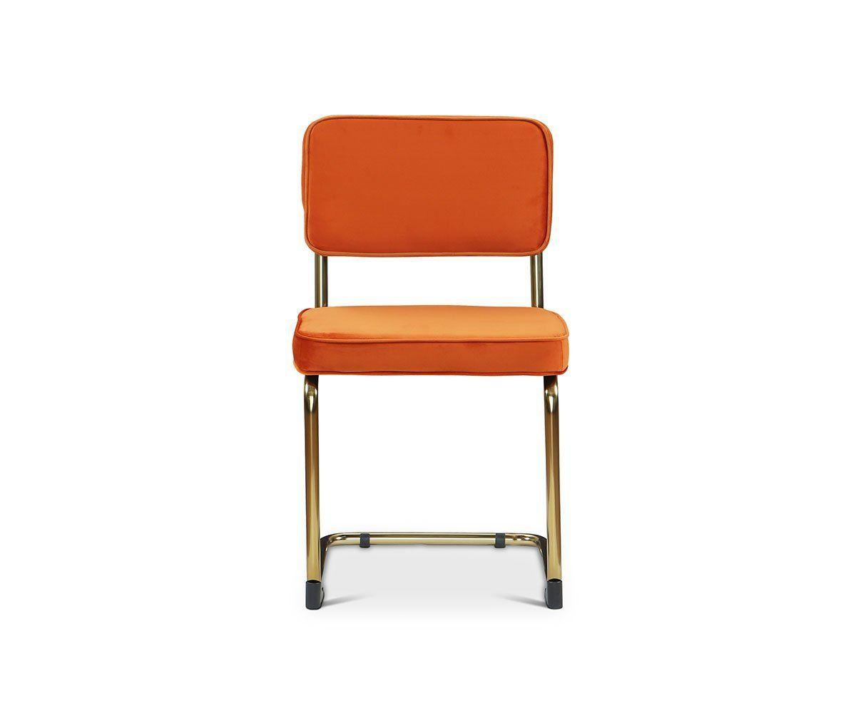 Stina Dining Chair Scandinavian Designs Chair Dining Chairs Orange Dining Chairs