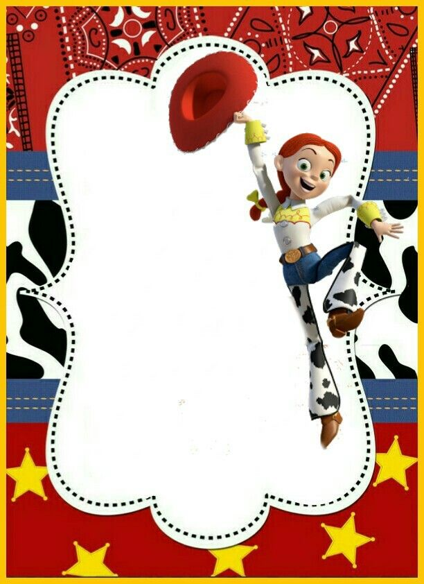 Toy story frame card | Kids Party Ideas | Pinterest | Toy, Birthday ...