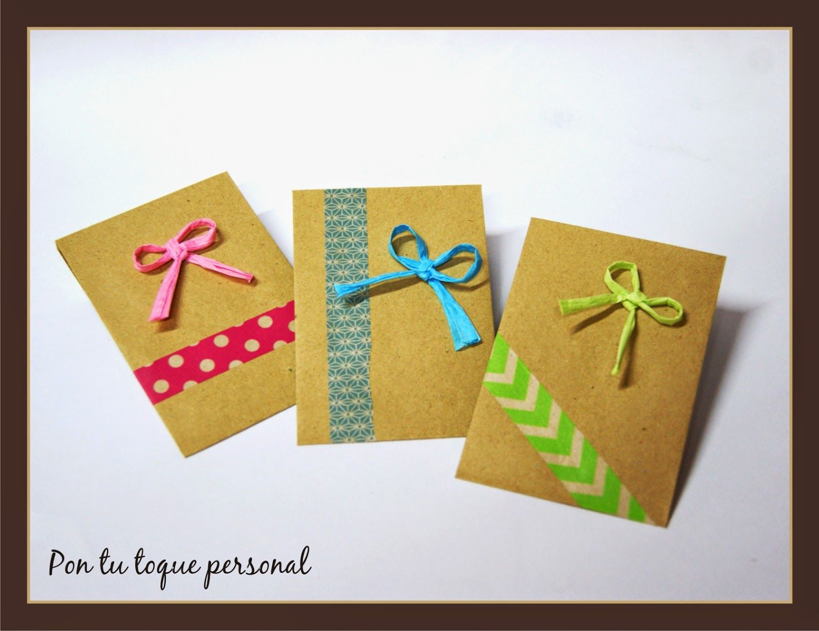 Ideas Para Decorar Con Washi Tape Ideas Para Packaging De Boda Con Estilo Kraft Decoración