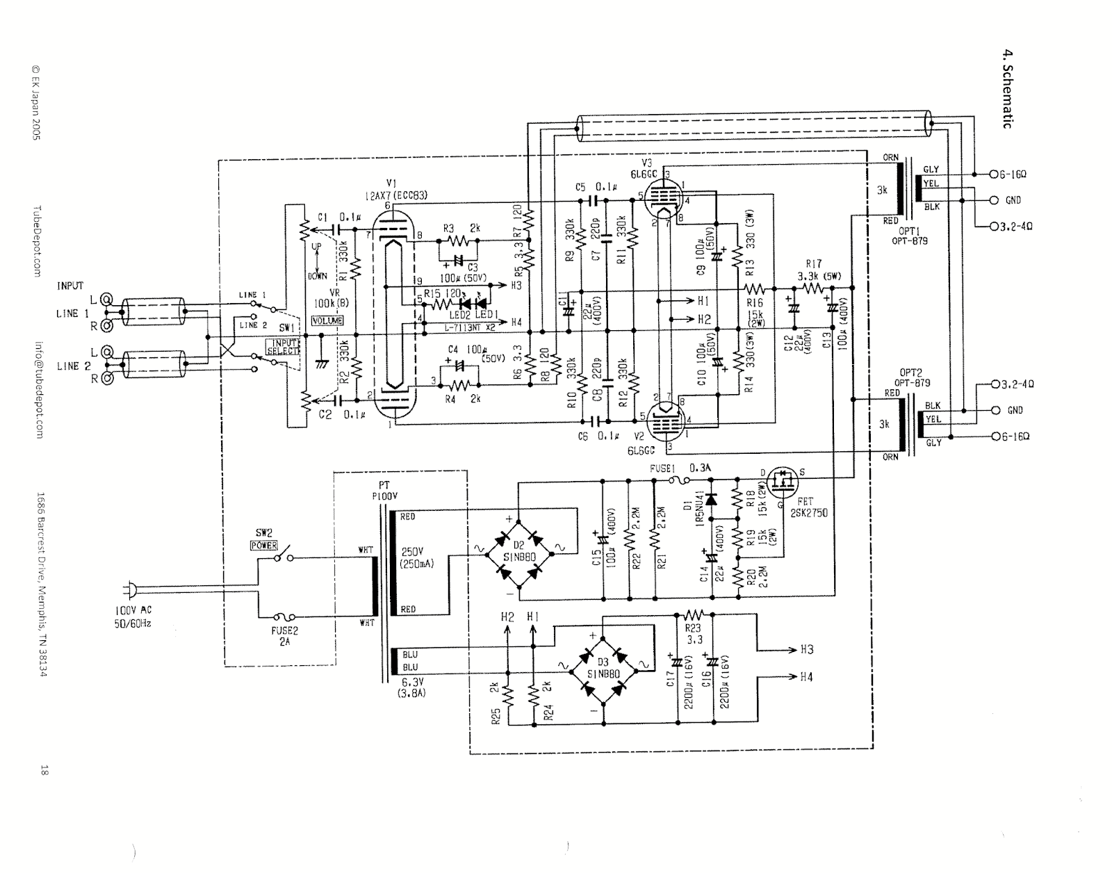 Easy Chip Amplifier March In