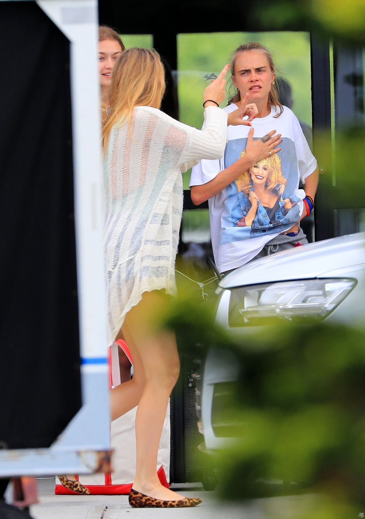 BLAKE LIVELY Arrives at Private Airport in Rhode Island 07/05/2016