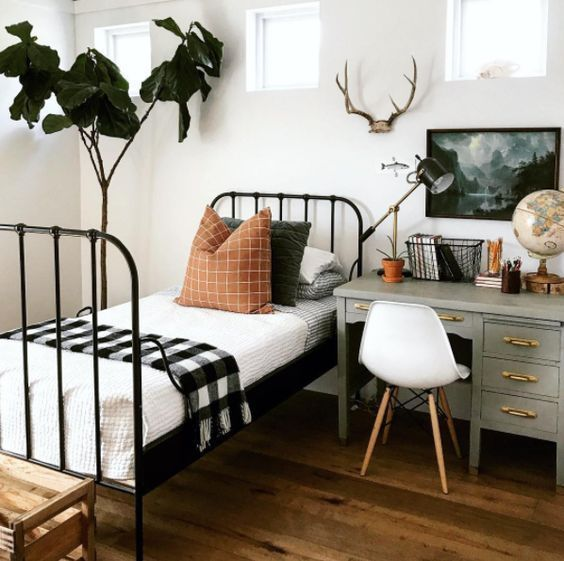 25 Cool Guest Bedroom And Home Office Combos