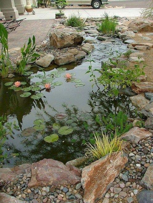 stunning garden waterfall | 30+ Stunning Garden Pond Waterfall Design Ideas | Water ...