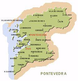 Mapa De Rias Bajas.Mapa De Las Rias Baixas Espana Viajes Mapas