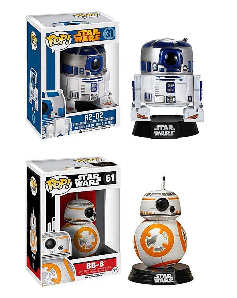 Pop Figure 2pk Star Wars Bb 8 R2 D2 In 2020 Funko Pop Star Wars Star Wars Pop Toys