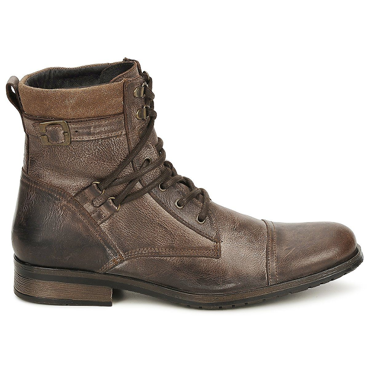 Boots Casual Attitude RIVIGH Marron - Chaussure pas cher avec Shoes.fr ! - Chaussures Homme 89,99 €