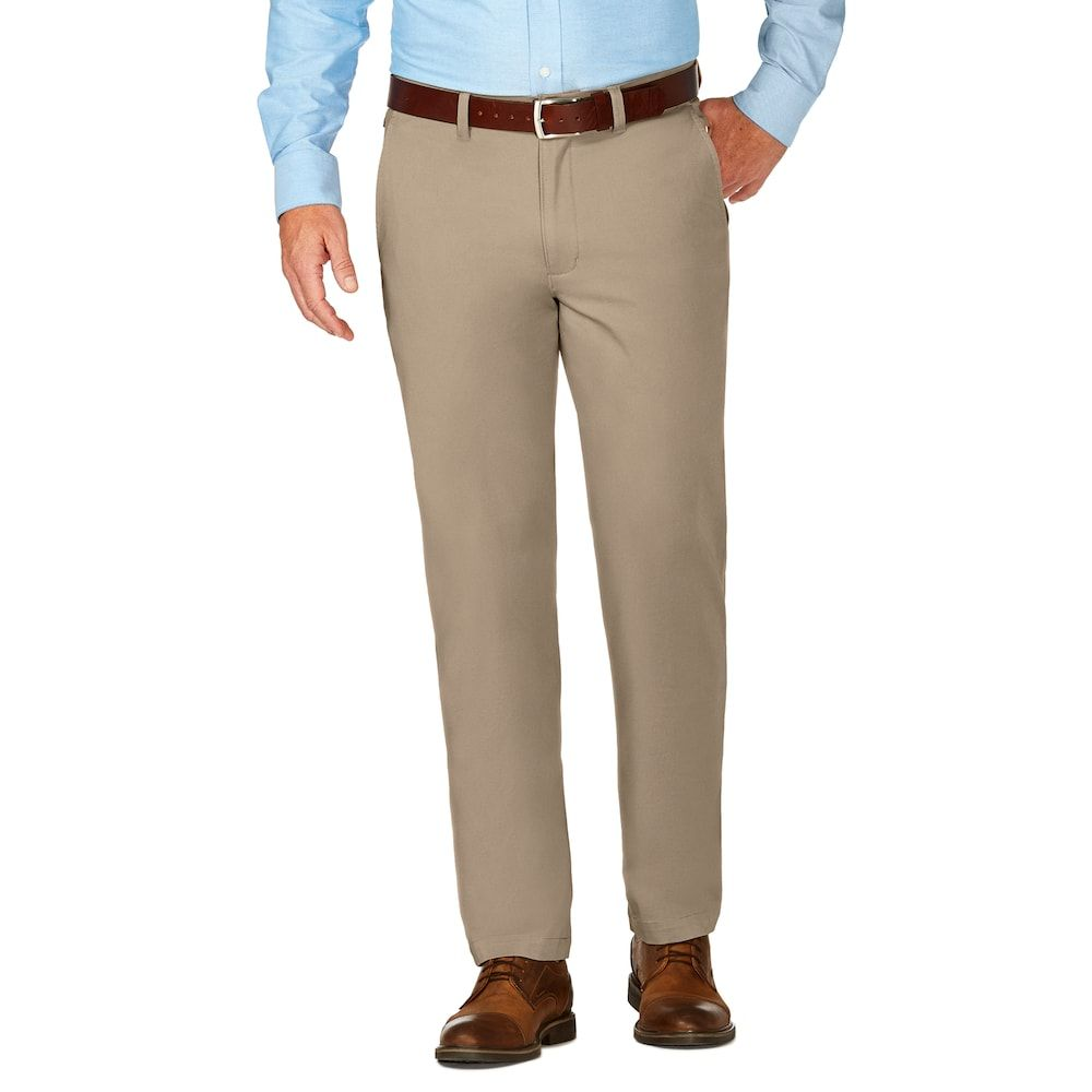 49722a62c0b Men s J.M. Haggar Luxury Comfort Slim-Fit 4-Way Stretch Flat-Front Casual  Pants