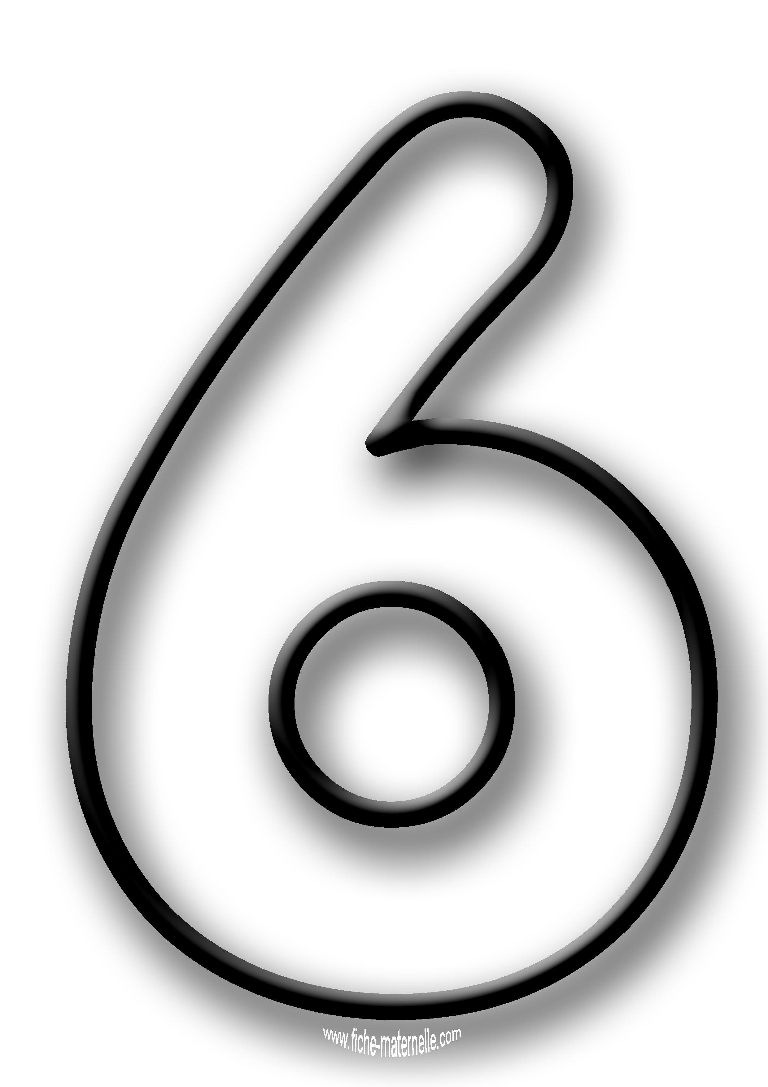 Coloriage des chiffres lettres d coratives pinterest - Dessin de chiffre ...