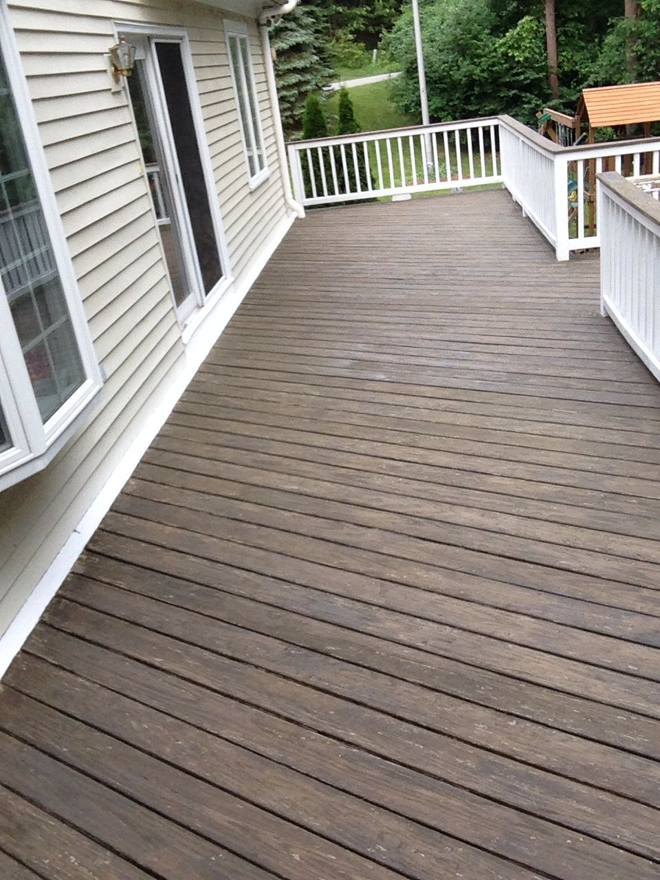 Cabot Stain Semi Solid Burnt Hickory Deck Stain Colors Staining Deck Deck Colors