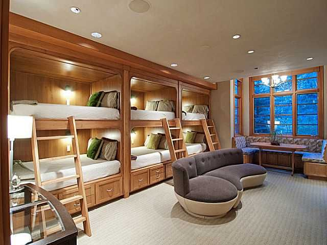 Bunk Room Great For A Kids Room Or When You Have