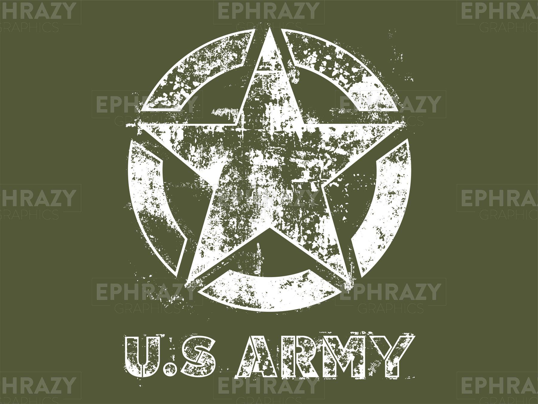 Us Army Star Grunge Svg Us Army Army Army Symbol [ 1350 x 1800 Pixel ]