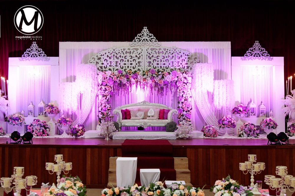 wedding stage decoration pics%0A moon and roses inspired wedding stage   Decorations Stage Background  for  Weddings Sangeet Reception and Birthdays   Pinterest   Stage  Moon and  Indian