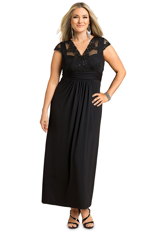 Dresses - Sara Embroidered Bodice Maxi Dress - EziBuy Australia