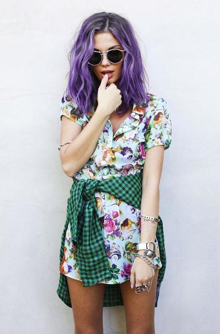 cores : cabelo + estampa