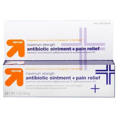 Antibiotic Maximum Strength Pain Relieving First Aid