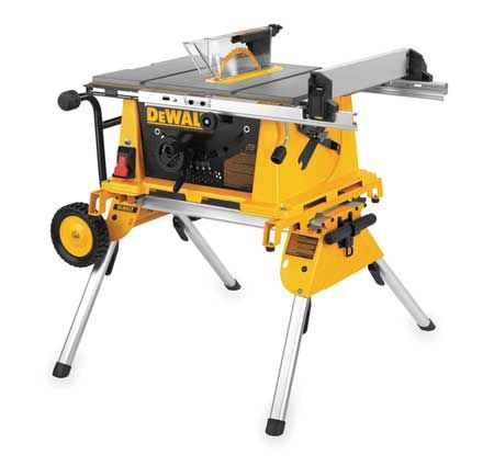 Dewalt Dw7440rs 187 32 Table Saw Portable Work Stand 10 In H Portable Table Saw Table Saw Dewalt Power Tools