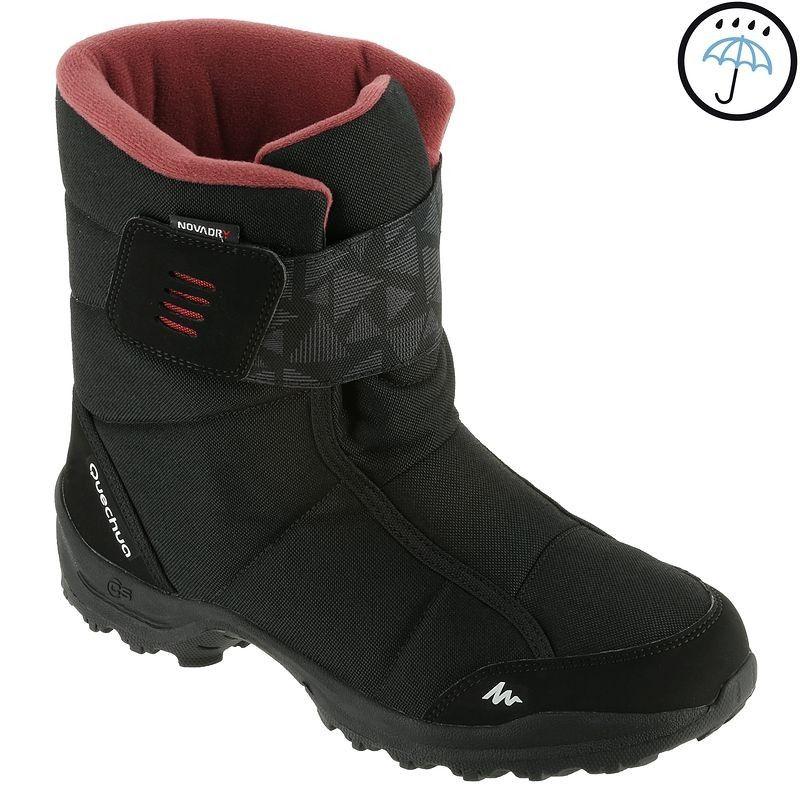 Botas de senderismo nieve mujer SH100 x-warm negro 52c831ecf3918