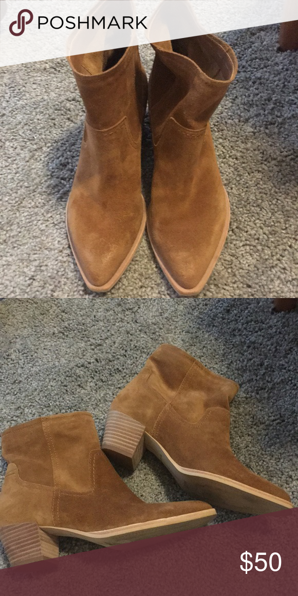 Dolce Vita Booties Worn twice! Dolce Vita Shoes Ankle Boots & Booties