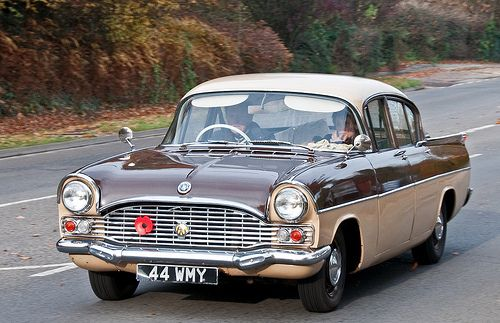 1960s Vauxhall Cresta PA – Classic Cars on the London to Brighton Route