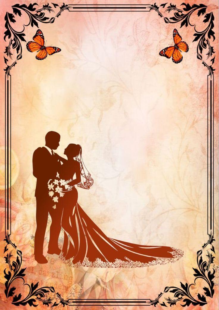 blank wedding invitations wedding