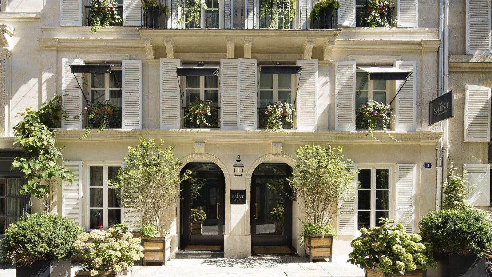 Hotel le Saint Paris | OFFICIAL SITE | Charming Hotel Saint