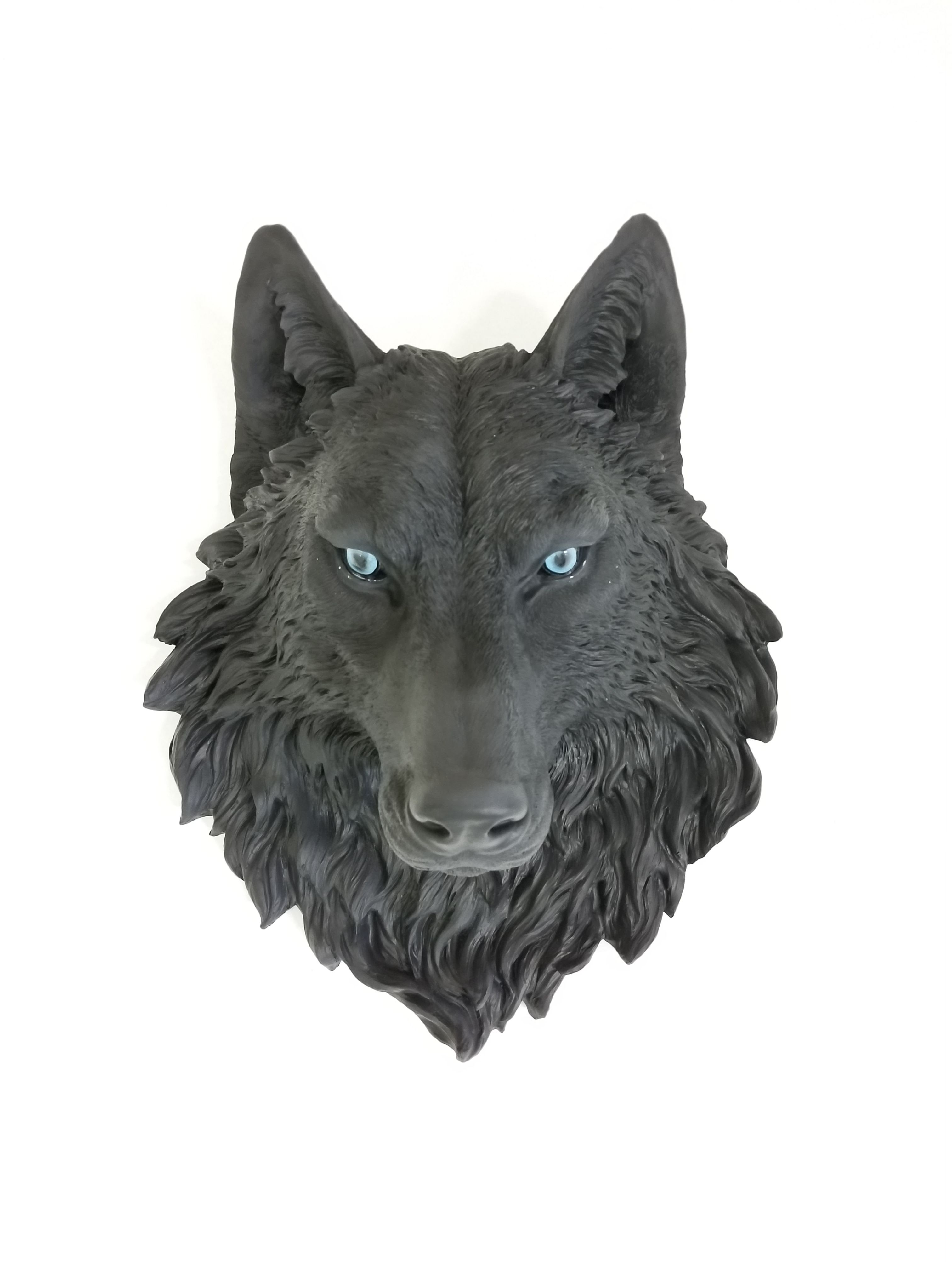 Pin by Shea Cahill on Ink   Wolf tattoos, Solid black ...  Solid Black Wolf