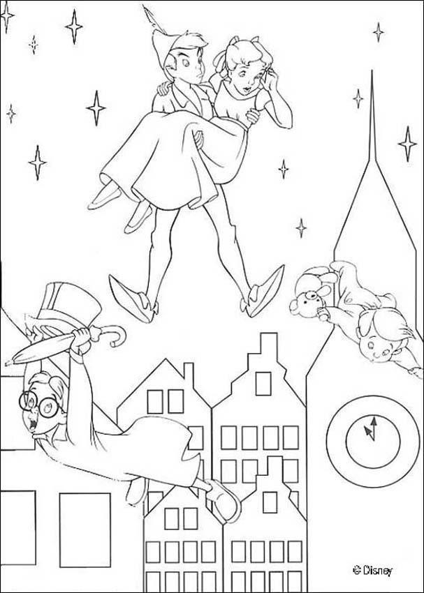 Tinkerbell peter pan and darling kids coloring pages disney tinkerbell peter pan and darling kids coloring pages disney coloring pages thecheapjerseys Gallery
