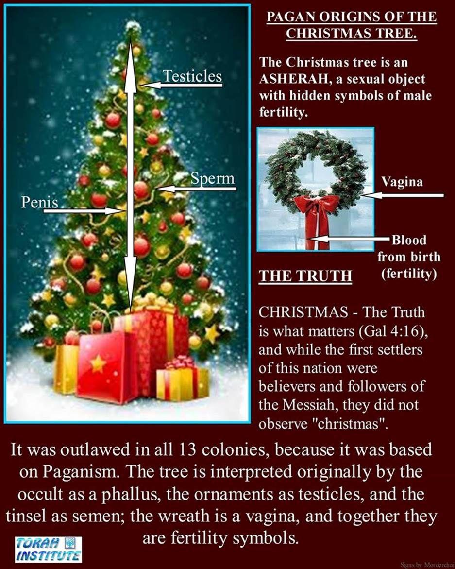 CHRISTMAS_Nimrod_Sun_King means | Christmas tree origin