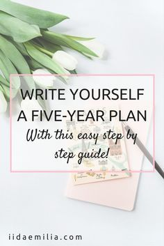Write a five year plan step by step career advice productivity journal malvernweather Image collections