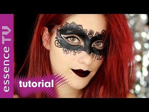 Halloween Schminke Deutsch.Maske Halloween Make Up Tutorial Deutsch Schnell Und Einfach Last Minute L Essencetv Youtube Maske Halloween Masken Make Up