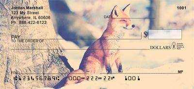Fox Trot Personal Checks from Checks-SuperStore.com