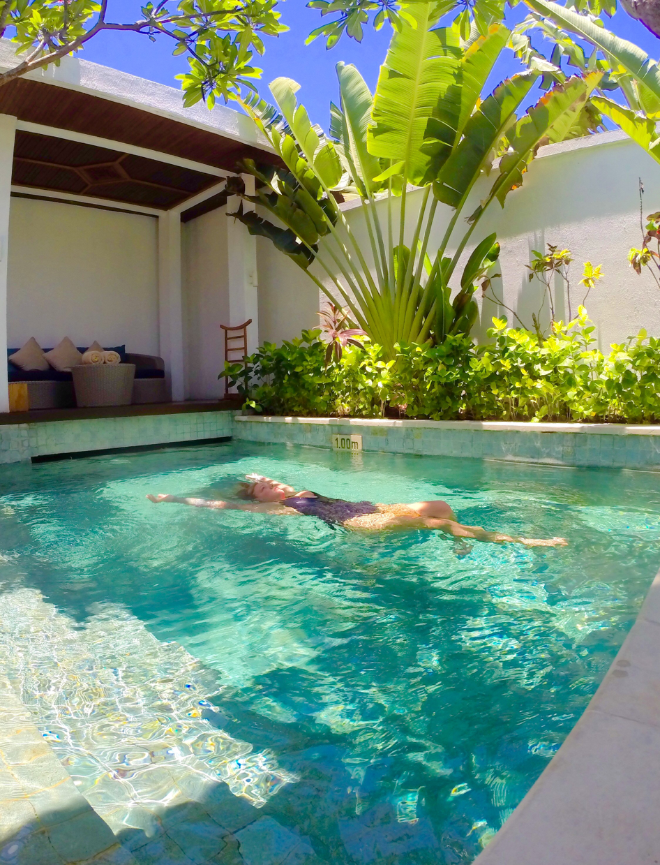 34 Images To Inspire You To Visit Bali Swimming Pools Backyard Pool Landscape Design Small Pool Design