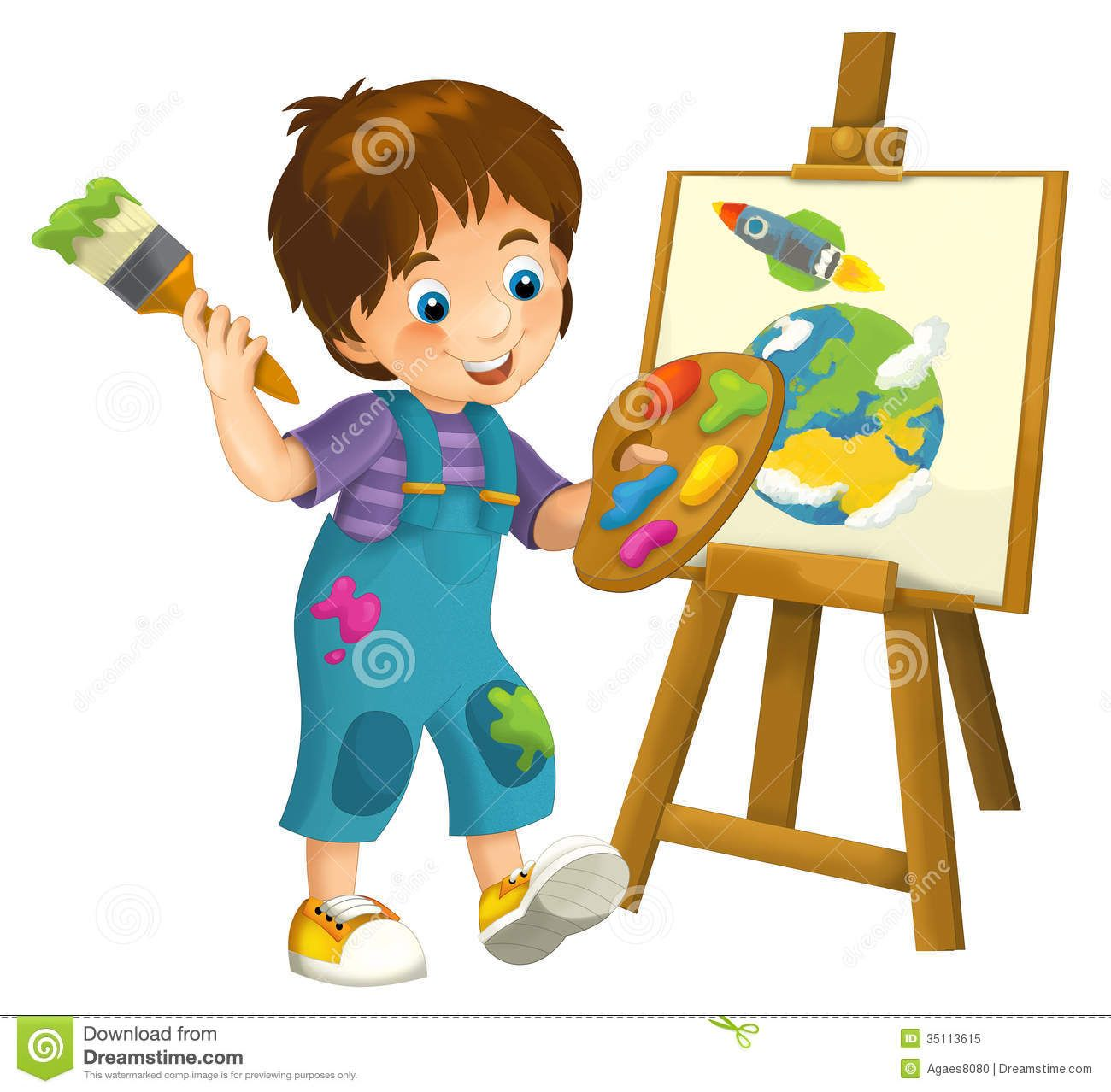 free stock photo cartoon child illustration