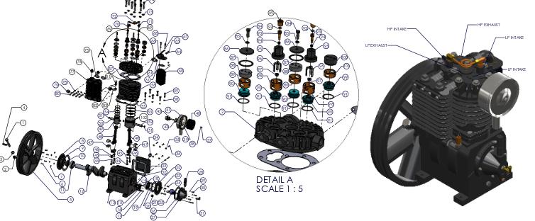 air compressor diagram Google Search Compressor, Diagram