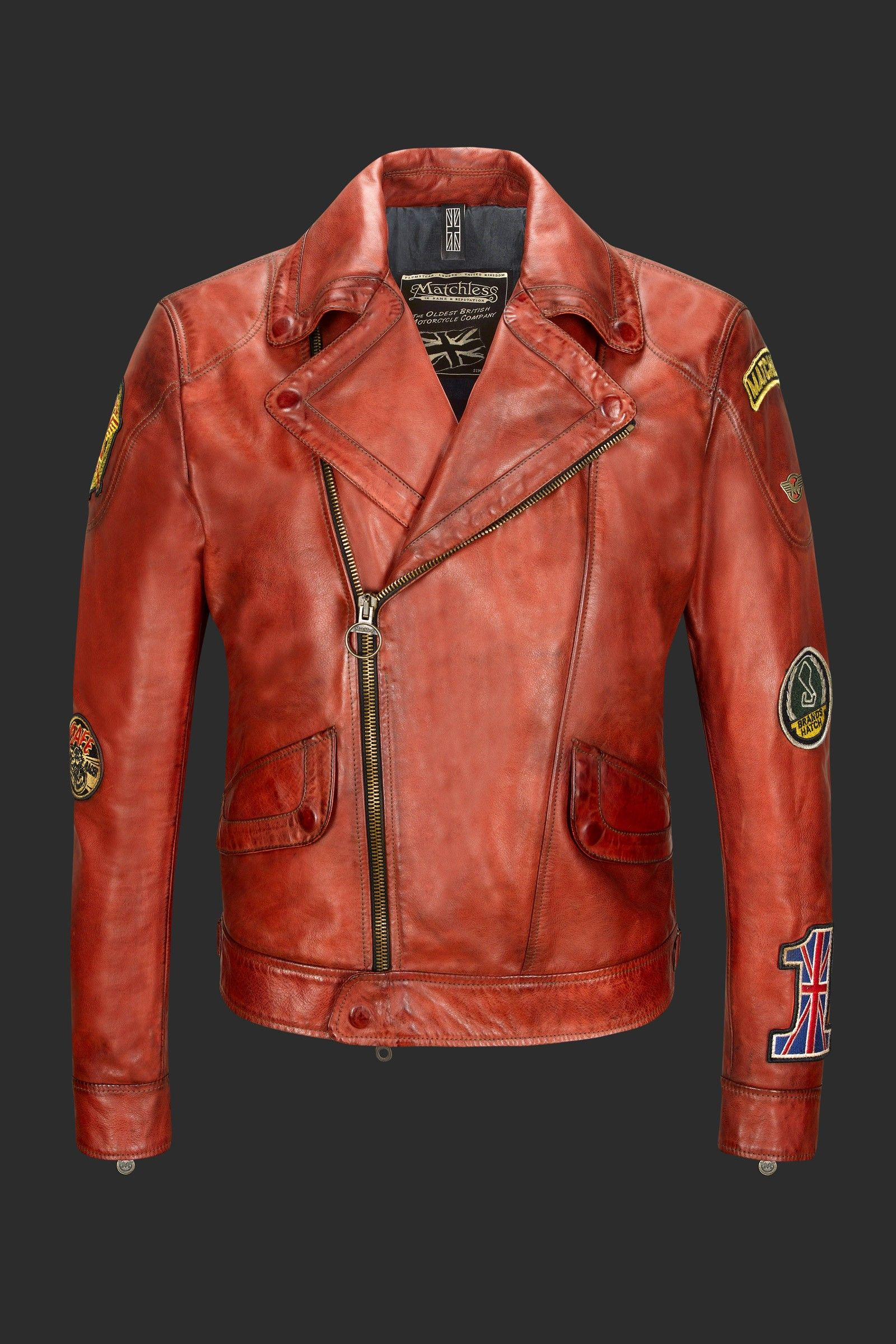 MICK BLOUSON - leather - jackets - man | Matchless London. Big love for this one . I am sold right away
