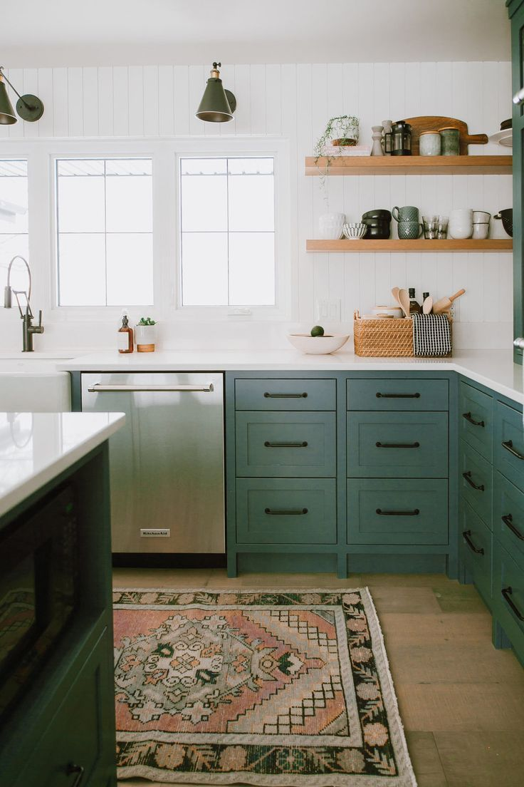Round up inspiring nonwhite kitchens