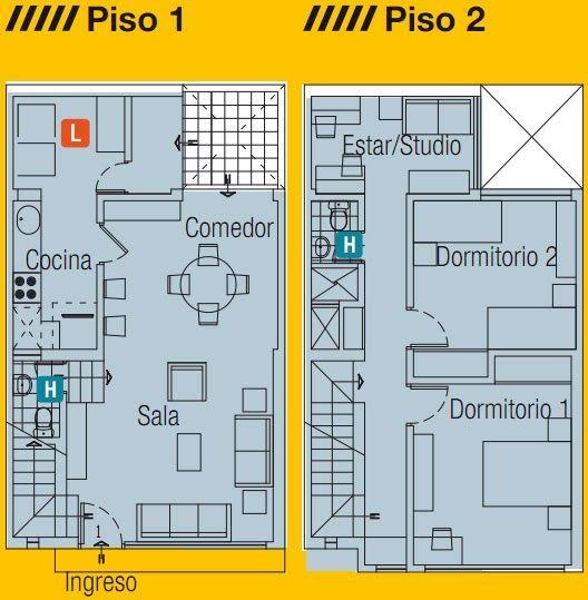 Planos de casas casas en venta planos de viviendas for Hacer plano de vivienda