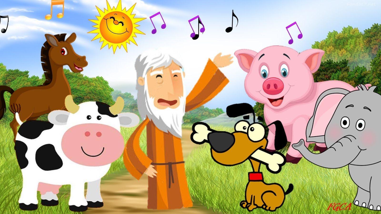 En el Arca de Noé - Sonidos de los Animales (canción infantil ... c83577d49482